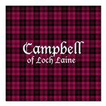 Tartan - Campbell of Loch Laine Square Car Magnet