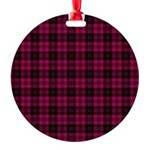 Tartan - Campbell of Loch Laine Round Ornament