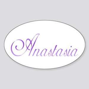 Anastasia Oval Sticker
