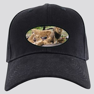 LION FAMILY Black Cap