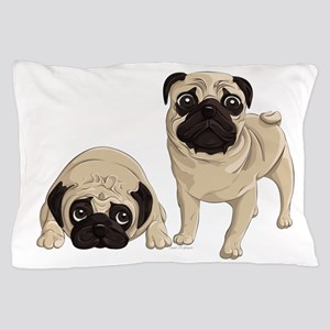 Pugs Pillow Case