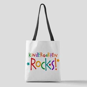 Kindergarten Rocks Polyester Tote Bag