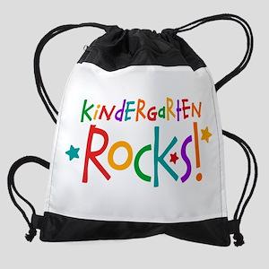 Kindergarten Rocks Drawstring Bag