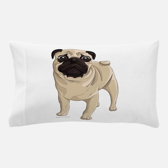 Pug Pillow Case