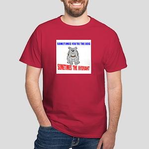 DOG OR HYDRANT Dark T-Shirt
