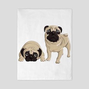 Pugs Twin Duvet
