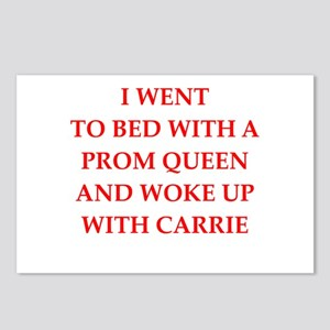 prom queen Postcards (Package of 8)