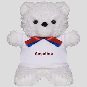Angelina Santa Fur Teddy Bear