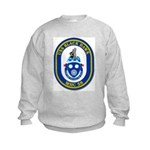 USS BLACK HAWK Kids Sweatshirt