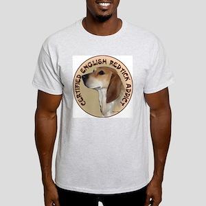 redtick addict Ash Grey T-Shirt