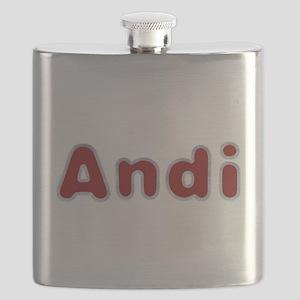 Andi Santa Fur Flask