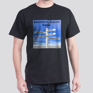 Maine Dark T-Shirt