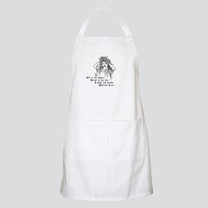 Victorian Girl Ink On Fingers BBQ Apron