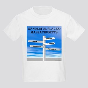 Massachusetts Kids T-Shirt