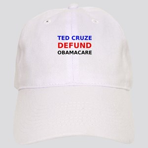 Ted Cruze Defund ObamaCare Baseball Cap