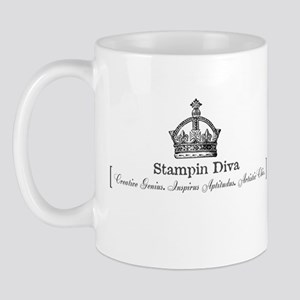 Royal Stampin' Diva Mug