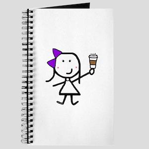 Purple Girl & Coffee Journal
