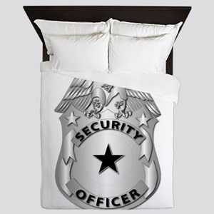 Gov - Security Officer Badge Queen Duvet