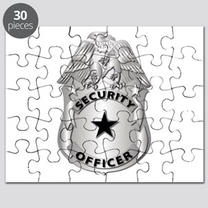Gov - Security Officer Badge Puzzle