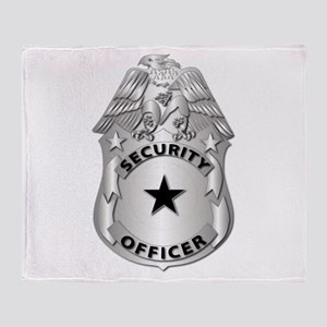 Gov - Security Officer Badge Throw Blanket
