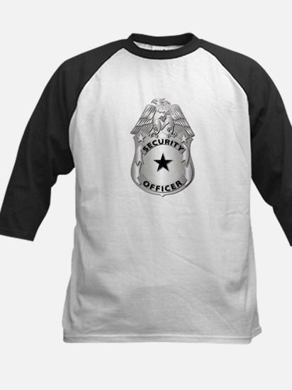 Gov - Security Officer Badge Kids Baseball Jersey