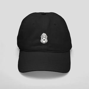Gov - Security Officer Badge Black Cap