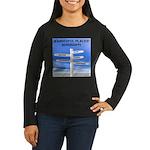 Mississippi Women's Long Sleeve Dark T-Shirt