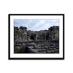 Mayan Ruins Framed Panel Print