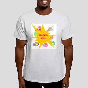 SUPER KID Ash Grey T-Shirt
