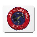 USS FRIGATE BIRD Mousepad