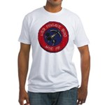 USS FRIGATE BIRD Fitted T-Shirt