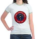 USS FRIGATE BIRD Jr. Ringer T-Shirt