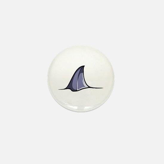 Shark Attack Mini Button