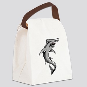 Hammerhead Shark Canvas Lunch Bag