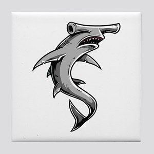 Hammerhead Shark Tile Coaster