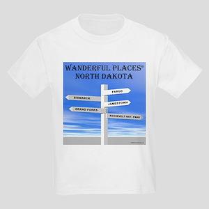 North Dakota Kids T-Shirt