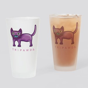 Tripawds Three Legged Cat Drinking Glass