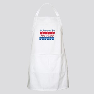 North Korea Conflict | Fire and Fury Light Apron