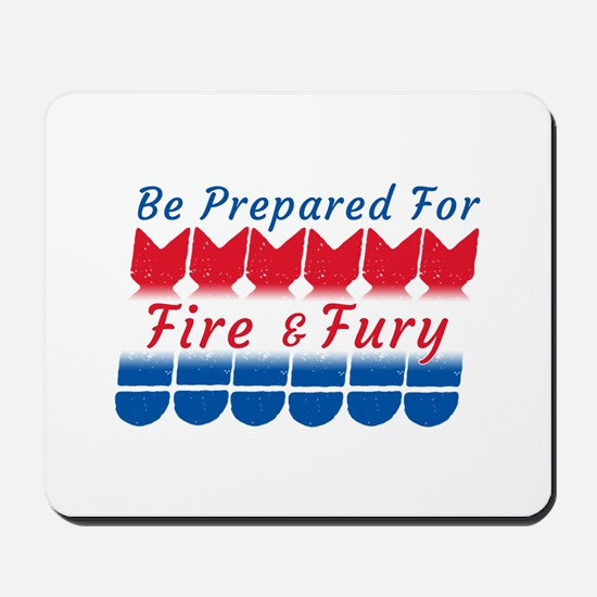 North Korea Conflict | Fire and Fury Mousepad