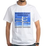 Pennsylvania White T-Shirt
