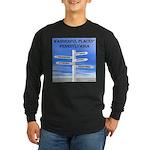 Pennsylvania Long Sleeve Dark T-Shirt