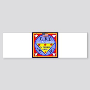 RIP Badge 6397 Bumper Sticker
