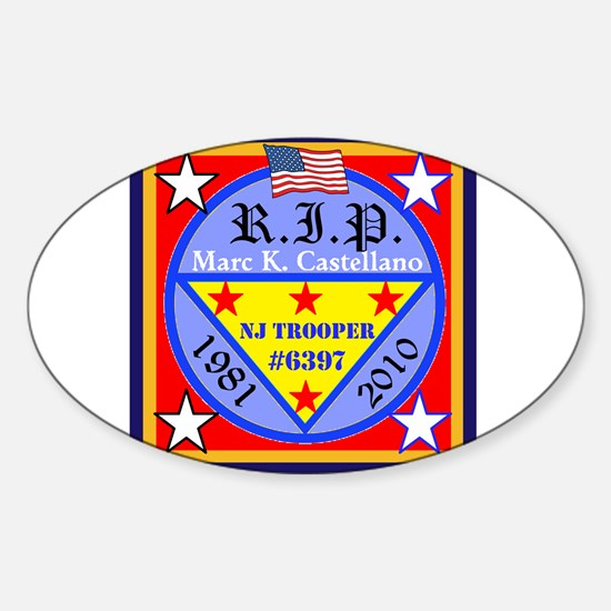 RIP Badge 6397 Decal