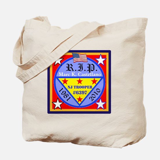 RIP Badge 6397 Tote Bag