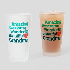Amazing Awesome Wonderful Beautiful Drinking Glass