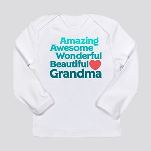 Amazing Awesome Wonderf Long Sleeve Infant T-Shirt