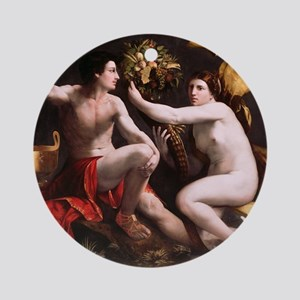 Allegory of Fortune by Dosso Dossi  Round Ornament
