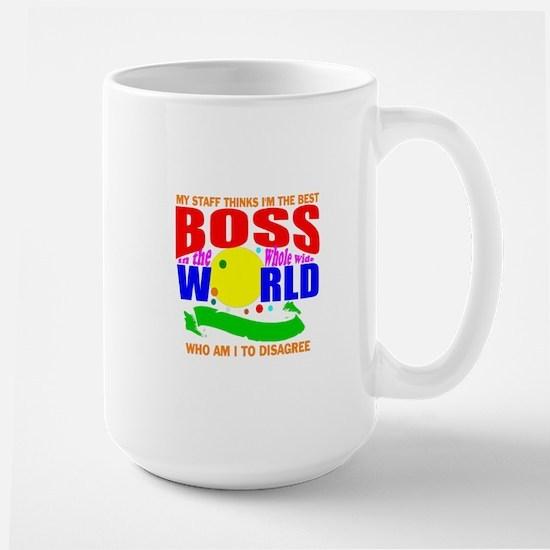 Funny boss Mugs
