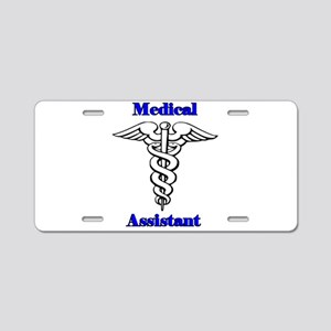 Medical Assistant Aluminum License Plate