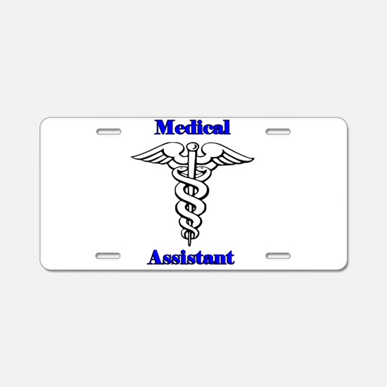 Medical Assistant Aluminum License Plate